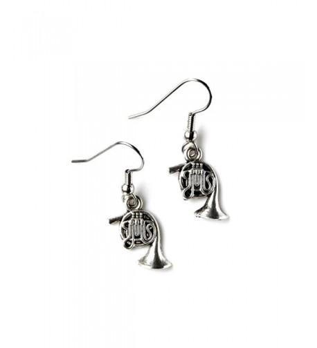 French Horn Loop Earrings