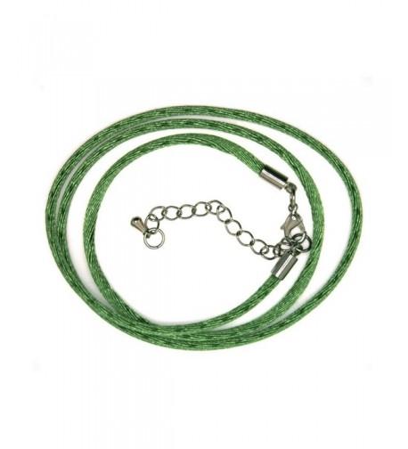 Inch Green Silk Cord extender