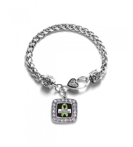 Disease Awareness Classic Silver Bracelet