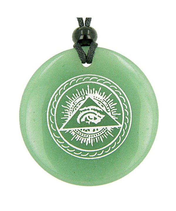 Seeing Amulet Quartz Pendant Necklace