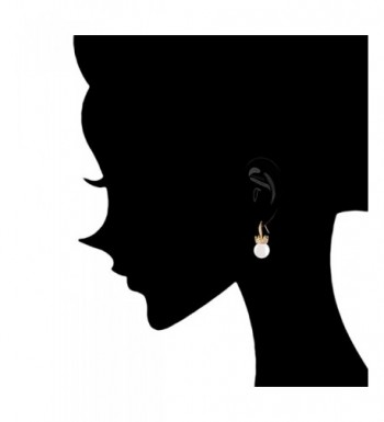 Simulated Zirconia Accented Earrings 12 12 5