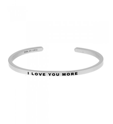 Mantra Phrase LOVE Surgical Steel
