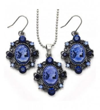 Necklace Pendant Earrings Fashion Jewelry