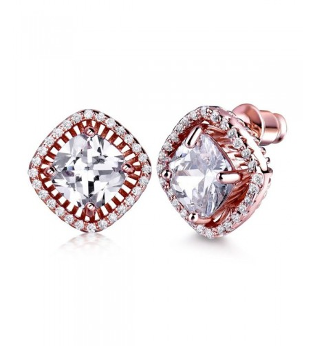GULICX Square Princess Jewelry Earrings