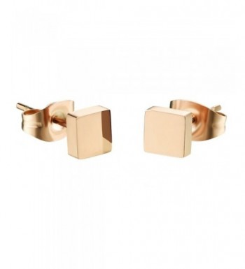 D B MOOD Square Earrings Stainless Earring