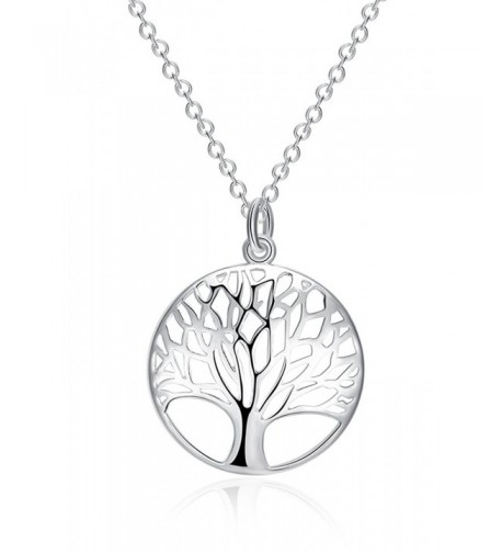 Pendant Necklace Sterling Silver Jewelry