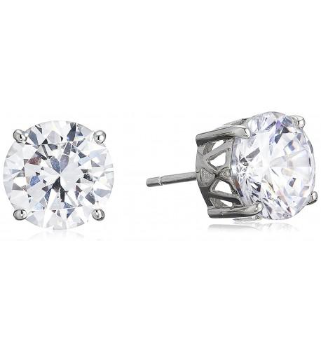Charles Winston Sterling Zirconia Earrings