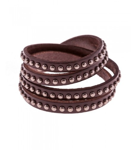 True Heart Style Bracelet Chocolate