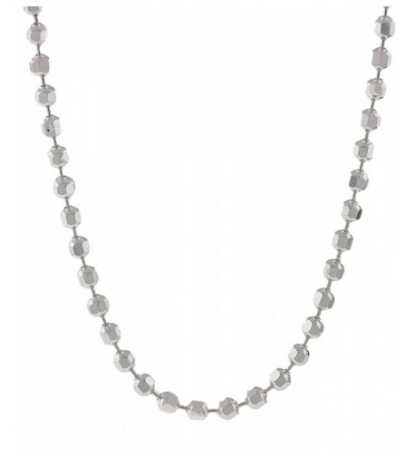 925 Sterling Diamond cut Necklace available
