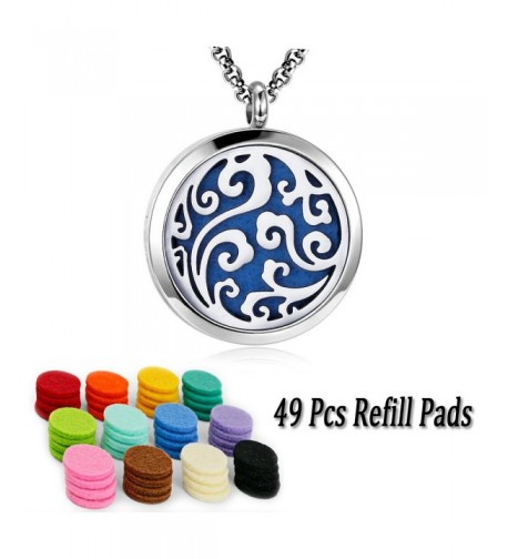 Essential Diffuser Necklace Stainless Aromatherapy