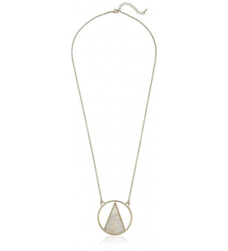Panacea Triangle Pendant Necklace extender