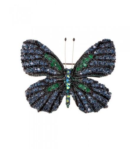 Alilang Rhinestone Swarovski Element Butterfly