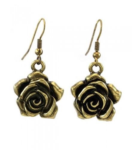 Flower Dangle Earrings Fashion Jewelry