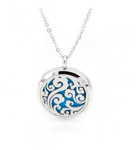 Ocean Swirl Essential Necklace Aromatherapy