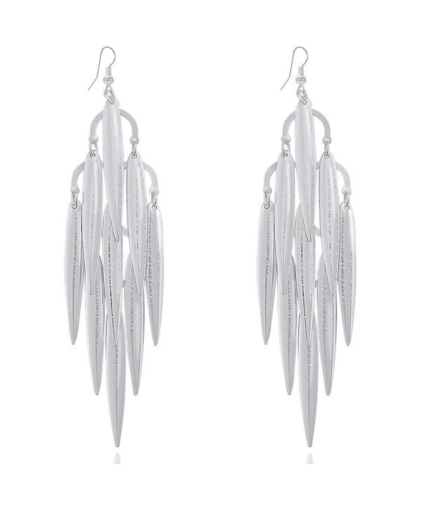 Bohemian Tiered Jewelry Chandelier Earrings