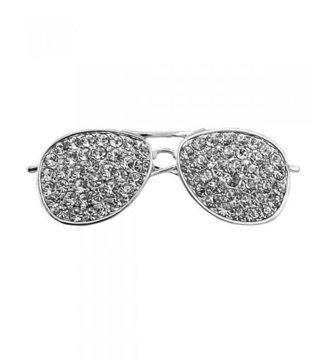CHUYUN Sunglasses Brooches Jewelry Rhinestone