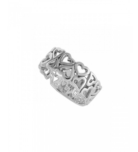 Boma Sterling Silver Open Hearts
