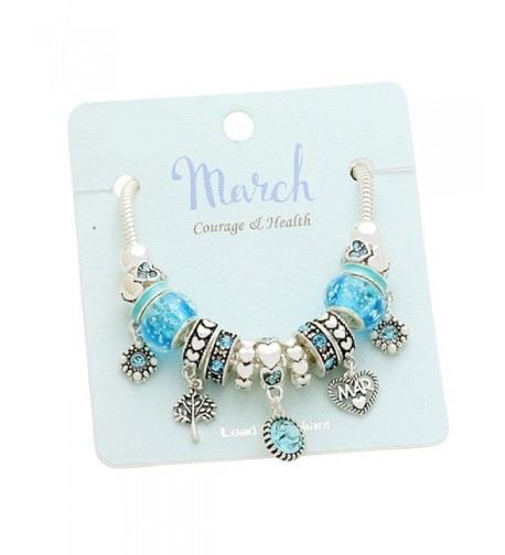 Rosemarie Collections Womens Birthstone Bracelet