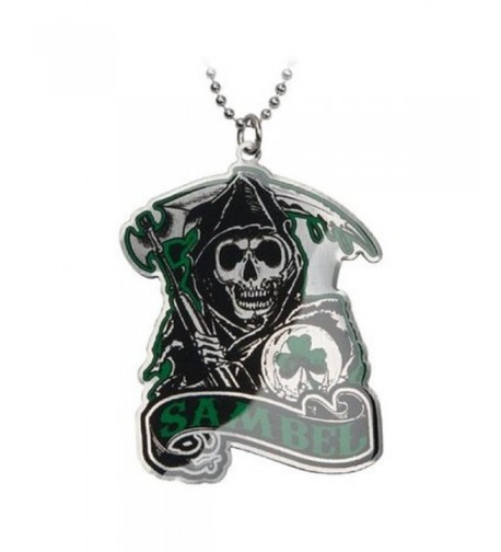 Anarchy Green SAMBEL Pendant Necklace