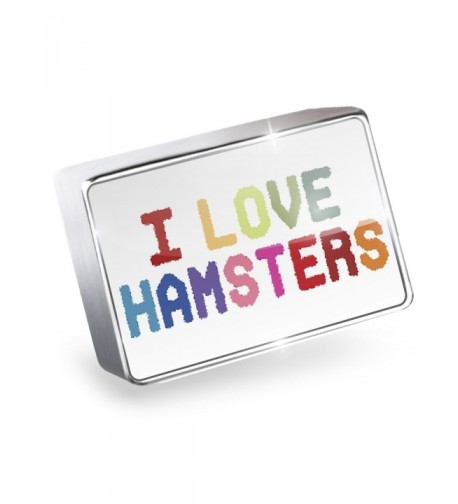 Floating Hamsters Colorful Lockets Neonblond