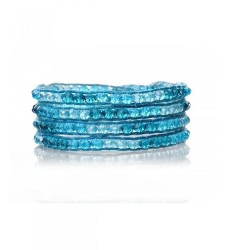 Crystal Bracelet Multilayer Handmade Genuine