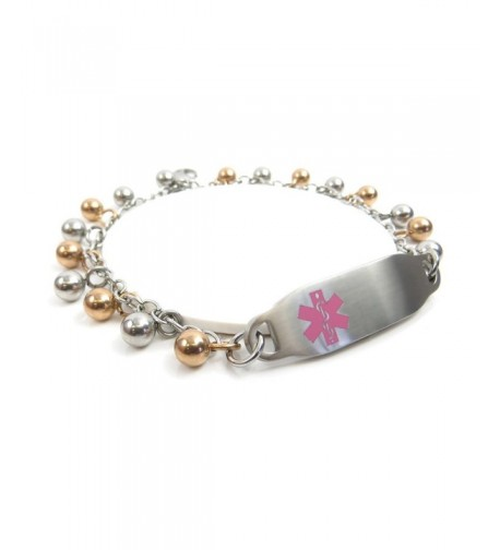 MyIDDr Pre Engraved Customized Dementia Bracelet