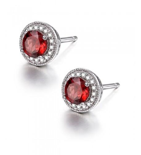 Sterling Natural Birthstone Earrings Gemstone