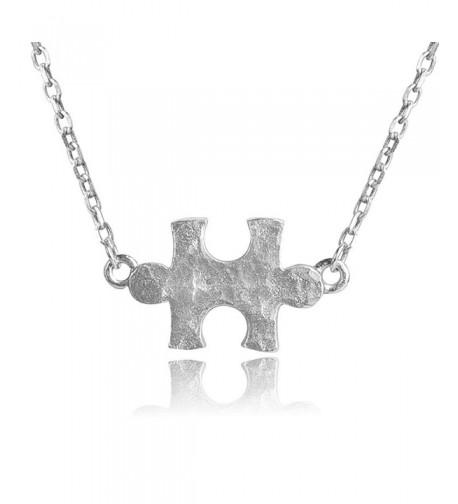 Sterling Hammered Necklace Adjustable Awareness