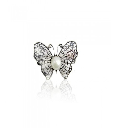 XS Accessories Crystal Rhinestone Butterfly