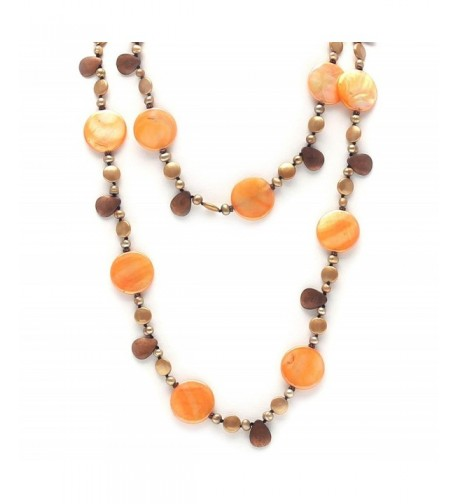 Womens Necklace Genuine Freshwater Pearls