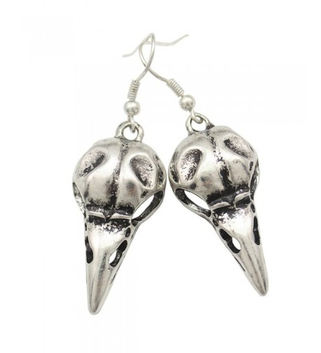 Fashion Vintage Silver Steampunk Earrings