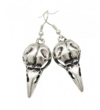 Fashion Vintage Silver Steampunk Earrings