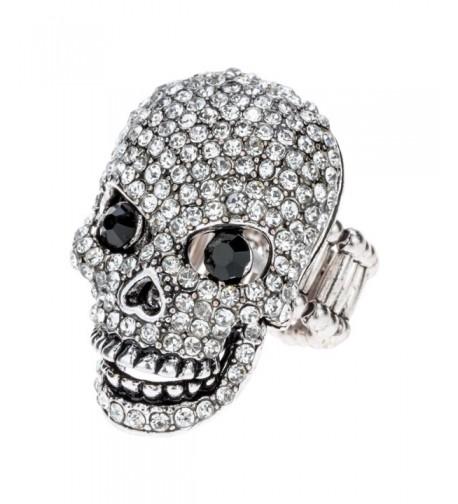 Szxc Jewelry Womens Crystal Stretch
