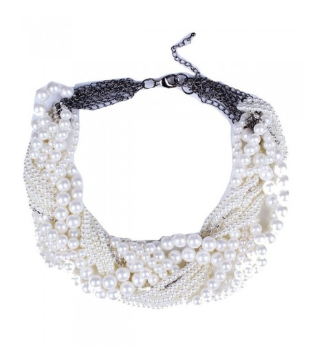 Beaded Torsade Multiple Layers Necklace