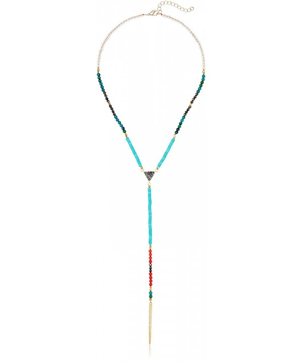 Panacea Bright Spike Y Shaped Necklace
