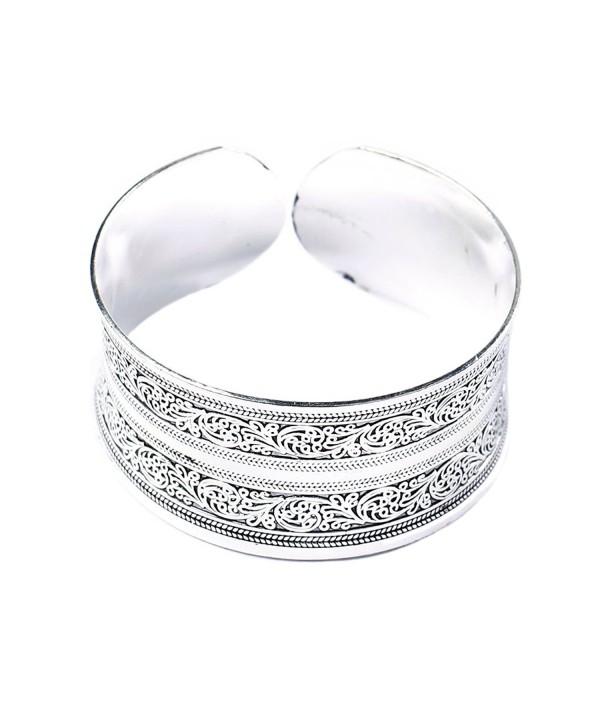BODYA Classic Silver Engrave Bracelet