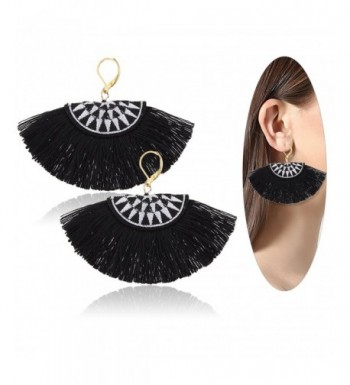 Eternity J Bohemian Embroidery Earrings