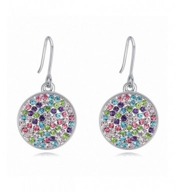 Multicolor Rhodium Plated Swarovski Beautiful Accessories