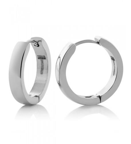 Stainless Steel Huggies Earrings Diameter