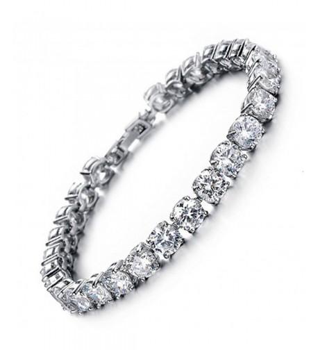 Bracelet Swarovski Elements Valentines Zirconia