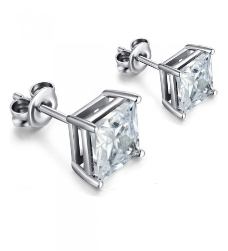 Fashion Sterling Zirconia Diamond Earrings