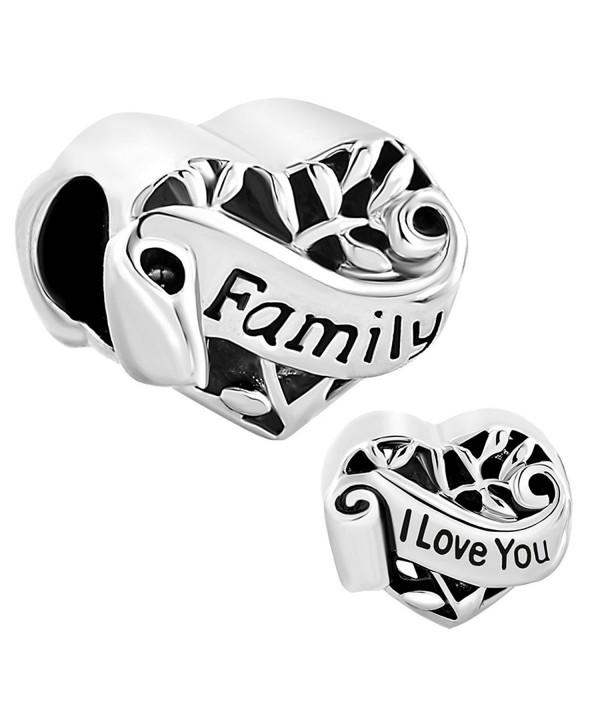 CharmsStory Heart Family Charmss Bracelets