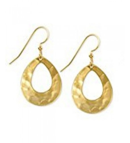 Silver Forest Gold Tone Hammered NE 0227