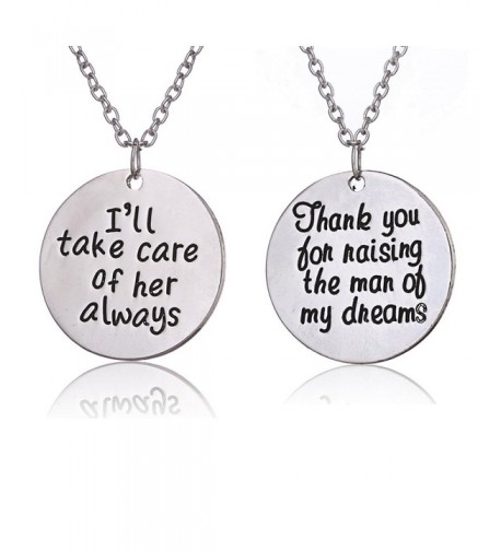 Raising Always Necklace Wedding Mother
