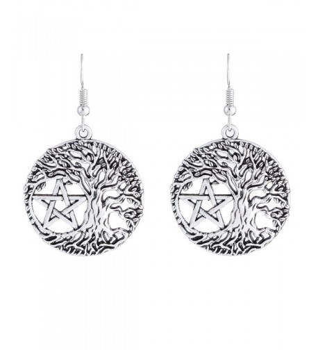 Yggdrasil Pentacle Pentagram Portugal Earrings