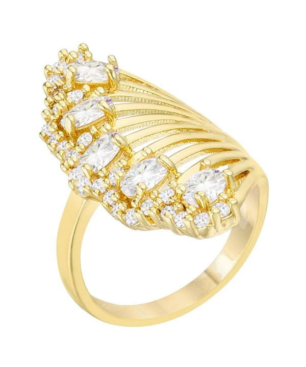 Natalie 2 15ct Gold Contemporary Cocktail