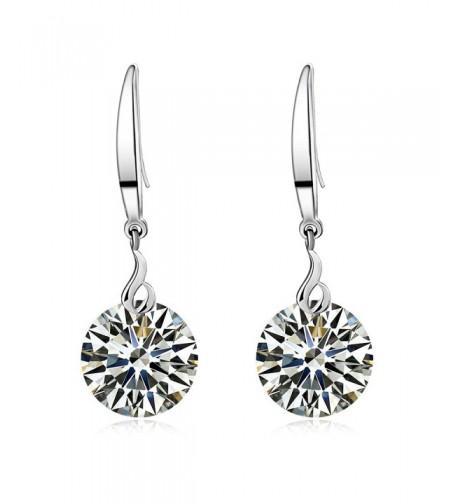 Sterling Swarovski Element Crystal Earrings