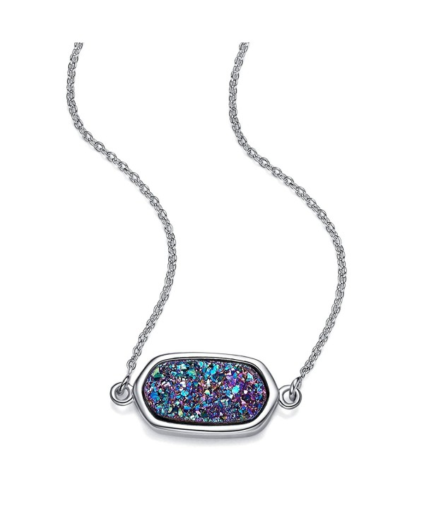 WISHMISS Necklace Gemstone Inspirational Extender