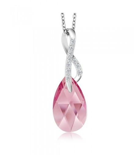 Collection Infinity Pendant Swarovski Crystals