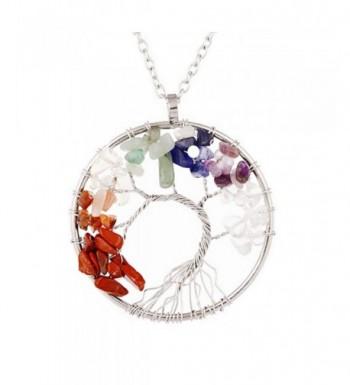 Pendant Necklace Gemstone Jewelry Mothers